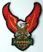 Kawasaki - 'Eagle' Embroidered Patch